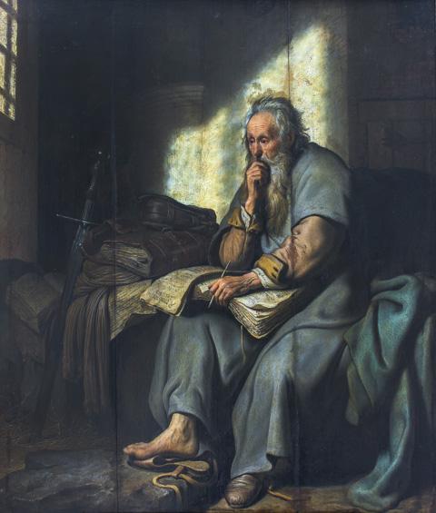 Rembrandt - San Paolo in prigione (1627)