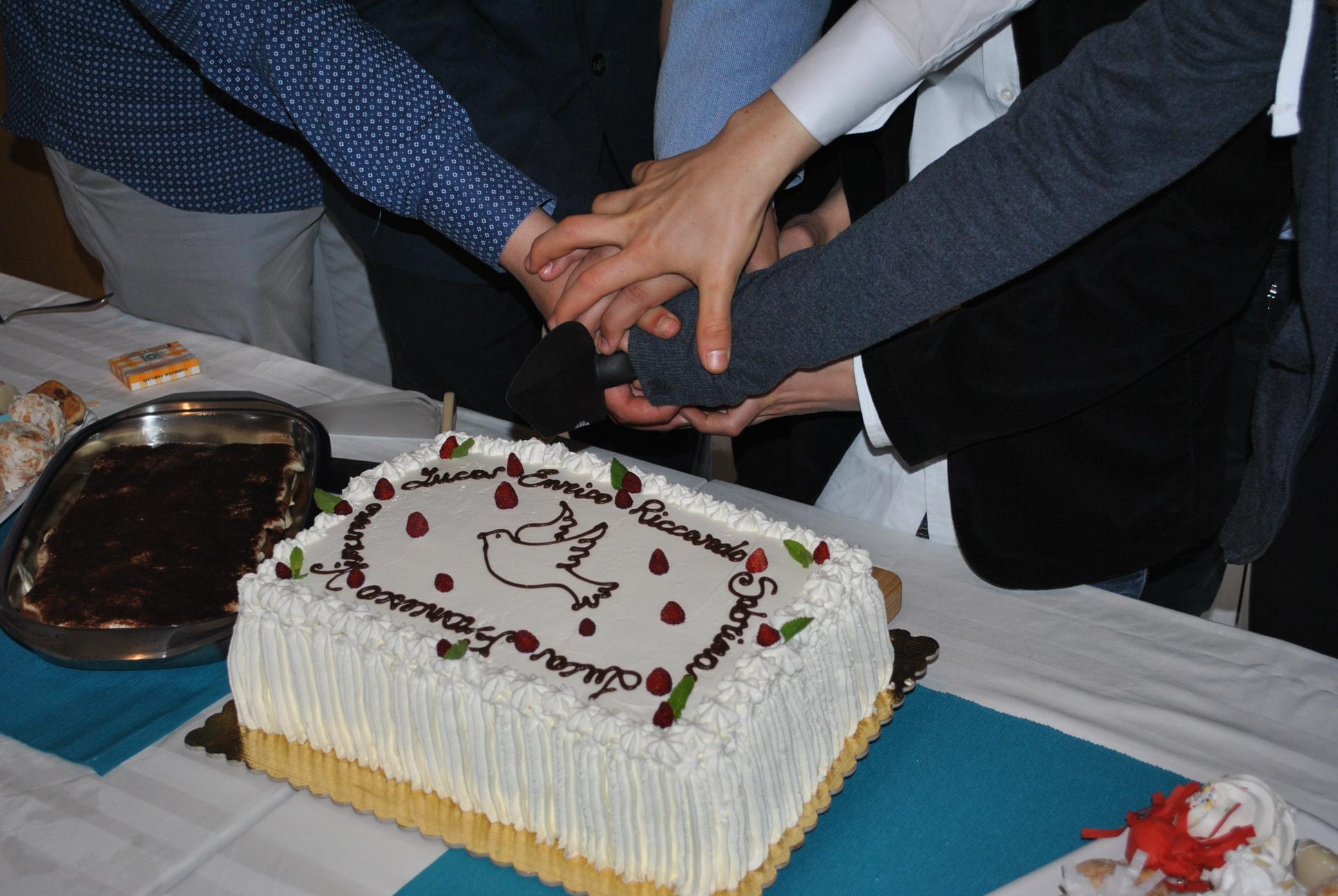 Konfirmation2016 taglio torta