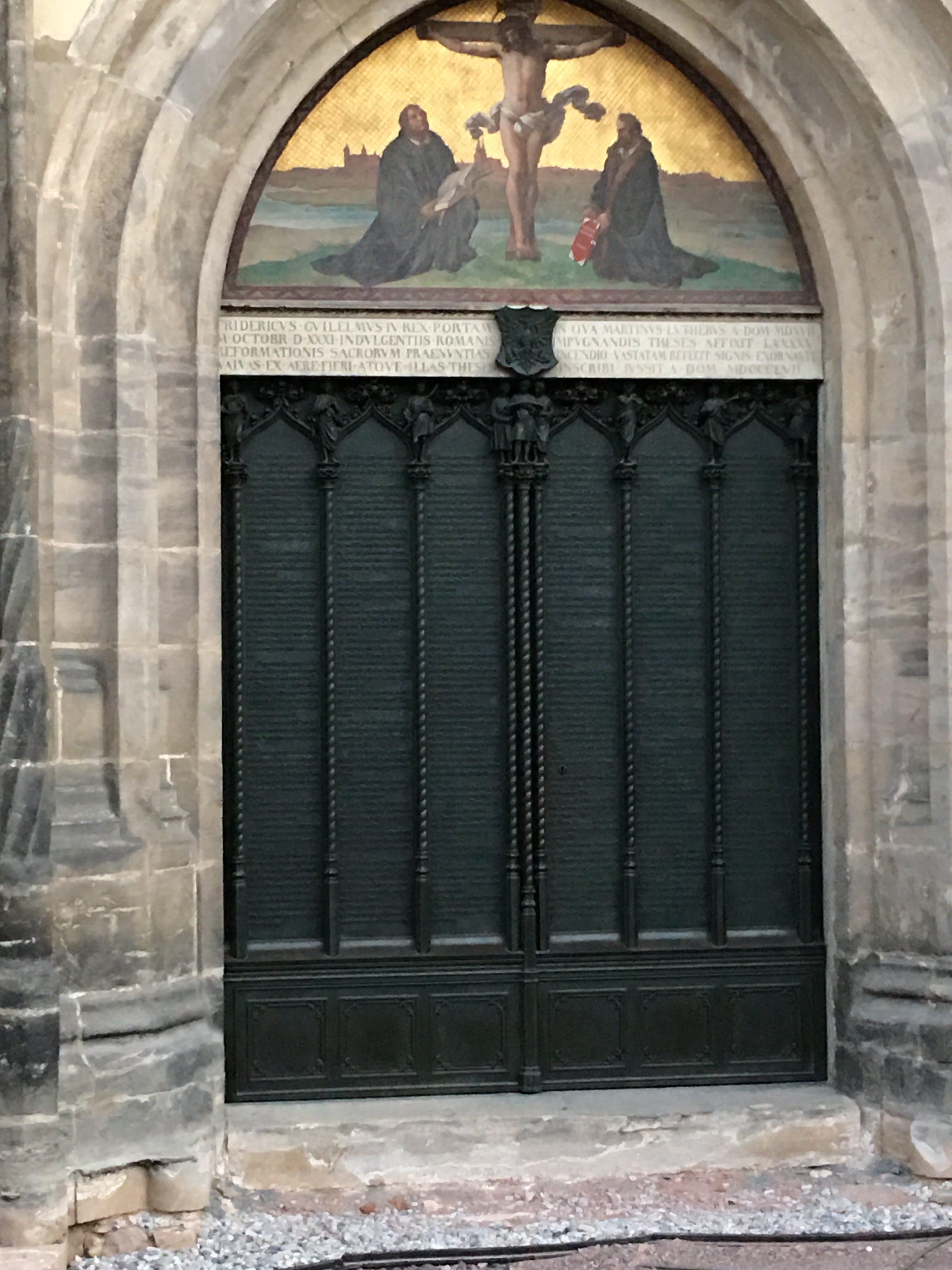 porta chiesa Wittenberg