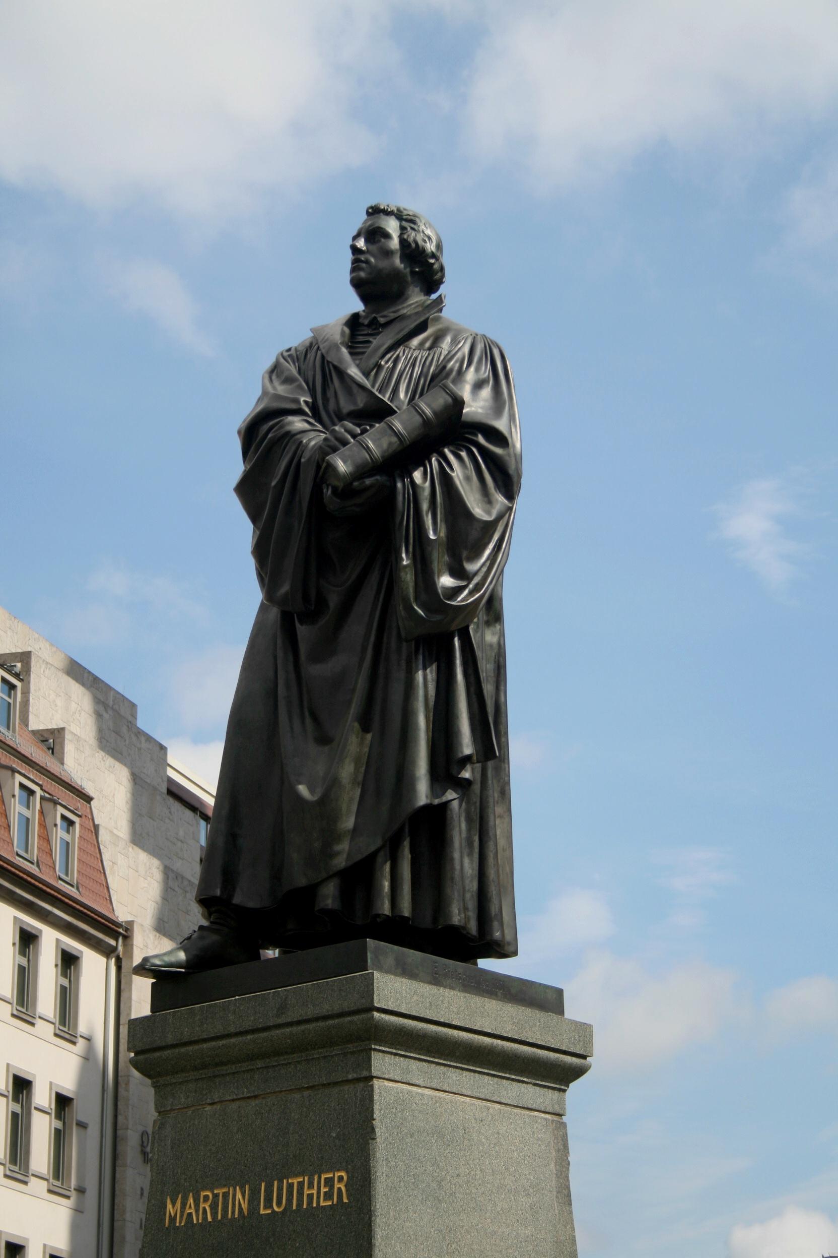 statua Lutero Wittenberg