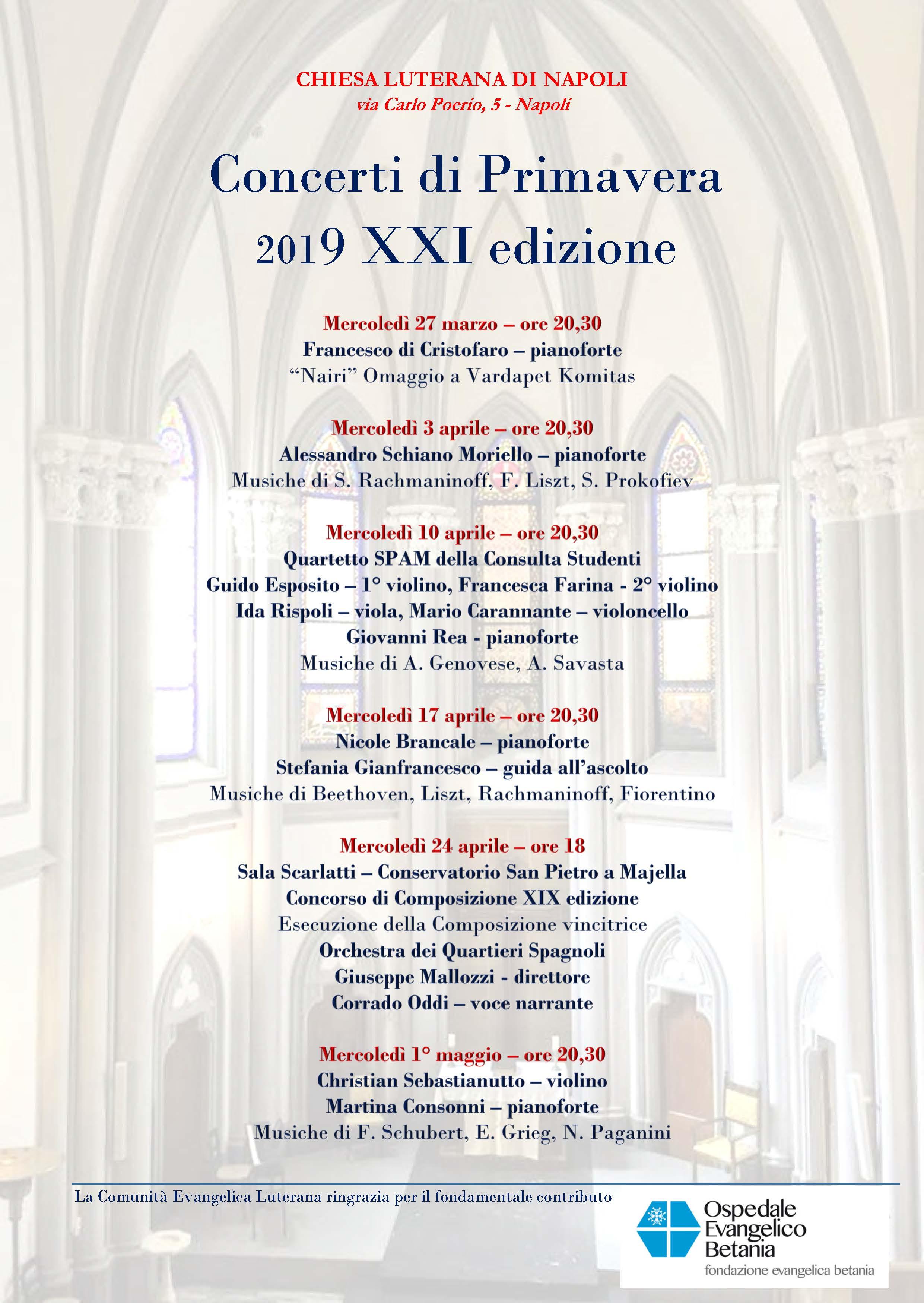 Giada Sciortino Calendario 2020.Luciana Renzetti Comunita Evangelica Luterana Di Napoli